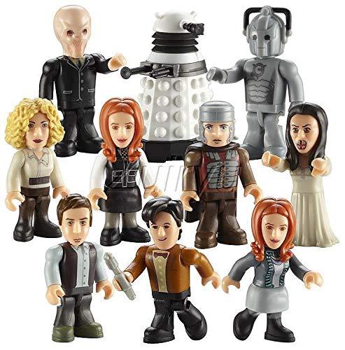 Doctor Who – Character Building – Micro Figures – Serie 2 – 1 Sachet avec Mini-Figurine Aléatoire
