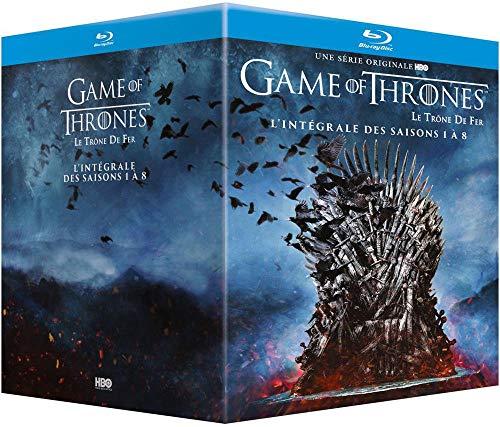 Coffret intégral saisons 1 à 8 blu-ray Game of Thrones