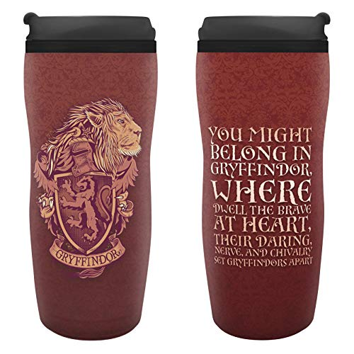 ABYstyle - Harry Potter - Mug de Voyage Isotherme Gryffondor