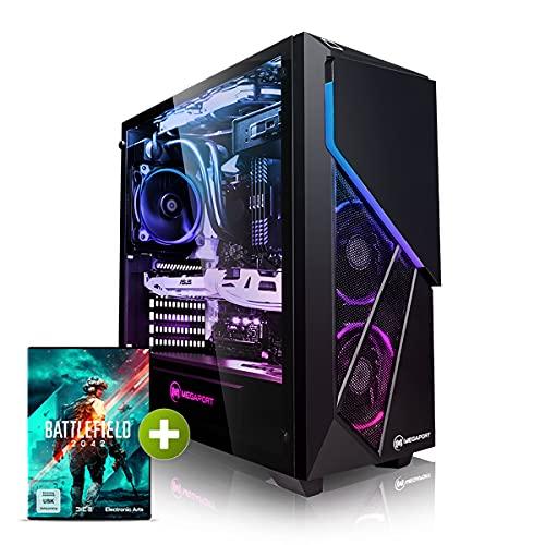 Megaport PC Gamer Nightfighter I Intel Core i7-11700KF 8X 3,60 GHz • Nvidia GeForce RTX3070 8Go • Windows 10 • 16Go 3000 • 1To M.2 SSD • 2To HDD • WiFi Unité Centrale Ordinateur de Bureau PC Gamer Nomai