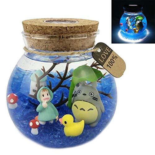 My neighbour Studio Ghibli Veilleuse Totoro Lampe de Nuit Cartoon Anime pour Cadeaux Fille Lampe de Chevet Décoration de Maison,Hands,S