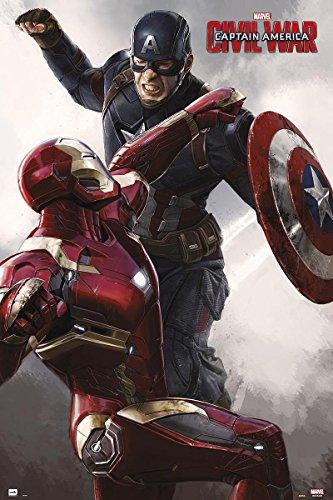 Affiche Captain América