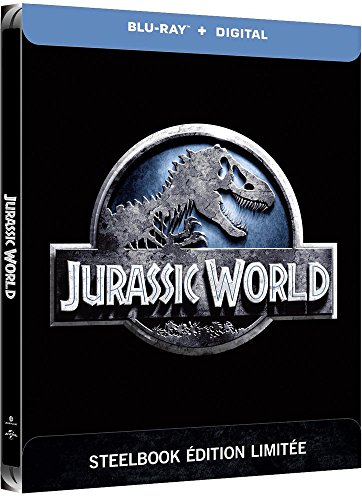 Coffret Jurassic World édition steelbook blu-ray