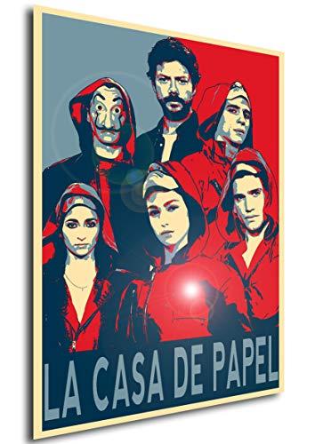 Instabuy Propaganda Posters La CASA de Papel - Characters (A4 30x21)
