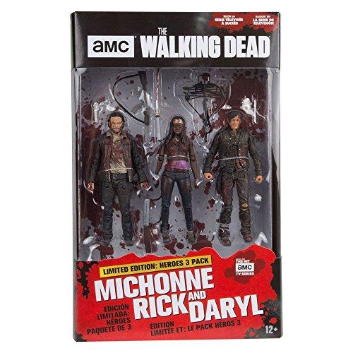 Pack de 3 figurines officielles The Walking Dead