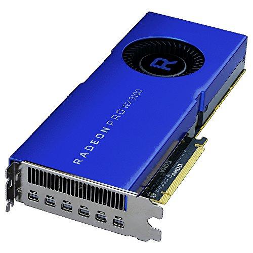 AMD Radeon Pro WX 9100 16GB HBM2 bleue Nomai