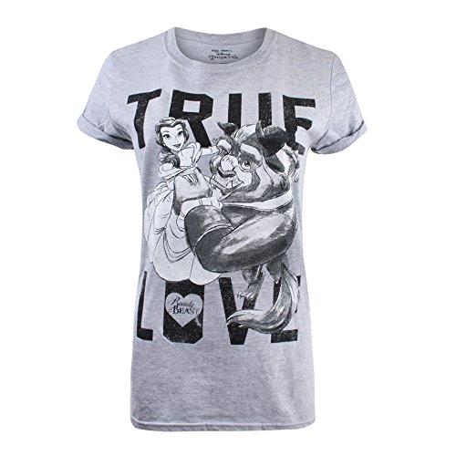 T-shirt Disney personnage La Belle et la Bête
