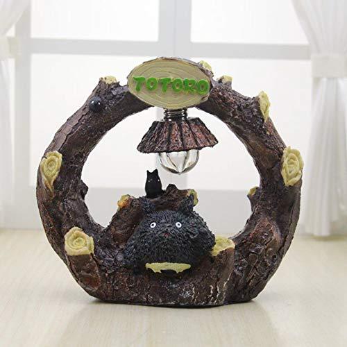 Kawaii Bande Dessinée Mon Voisin Totoro Umbrella Lampe LED Veilleuse Table De Lecture Lampes de Bureau pour Enfants Cadeau Home Decor Nouveauté,A