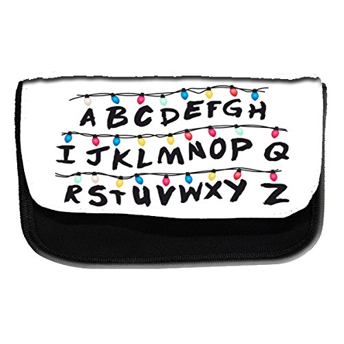 Trousse Alphabet Inspired by Stranger Things - scolaire, trousse à crayons ou à maquillage