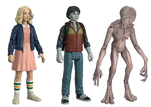 Funko - Figurine Stranger Things - 3-Pack Eleven Blond Will Upside Demogorgon Exclu 10cm - 0889698208055