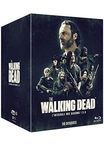 Coffret intégral de la série The Walking Dead saisons 1 à 8 blu-ray