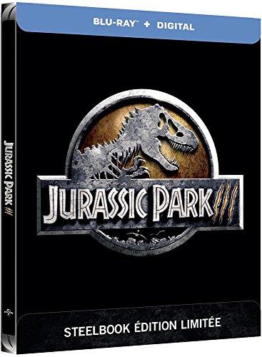 Coffret Jurassic Park III édition steelbook blu-ray