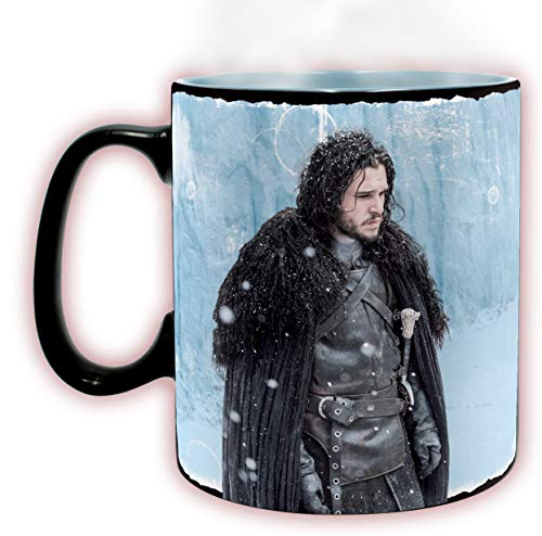 ABYstyle - Game of Thrones - Mug Heat Change - 460 ML - Winter is Here