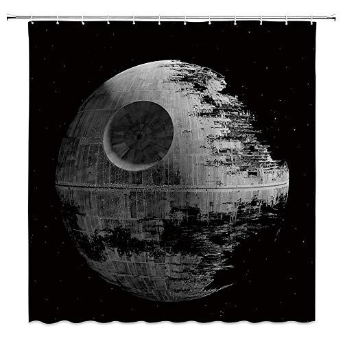 Rideau de douche Star Wars + 12 corchets