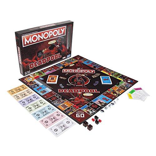 Jeu de plateau Monopoly Deadpool Marvel version française