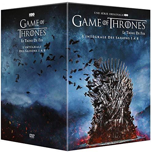 Coffret intégral saisons 1 à 8 DVD Game of Thrones