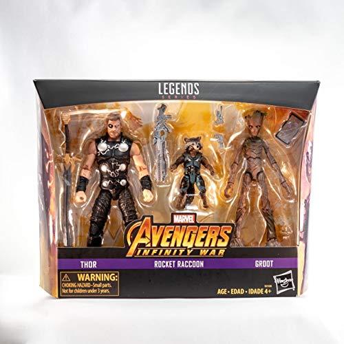 Pack de 3 figurines Marvel Legends Avengers