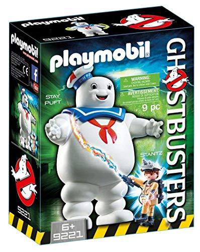 Jeu Playmobil Ghosbusters fantôme Stay Puft et Stantz