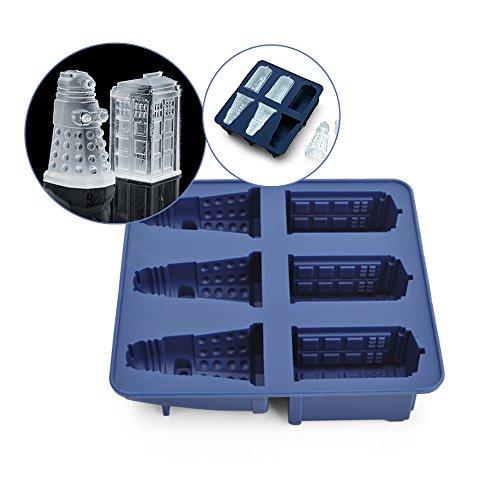 Sungpunet chaîne Offre Doctor Who Silicone Ice Cube Tray Tardis & Daleks Creative Design