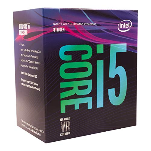 Intel Core i58400 Processeur PC 6 cœurs 2,8 GHz (Turbo 4,0 GHz) Version boîte