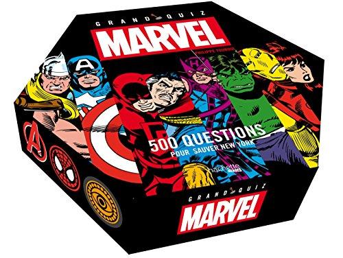 Jeu de société 500 questions Marvel Quizz
