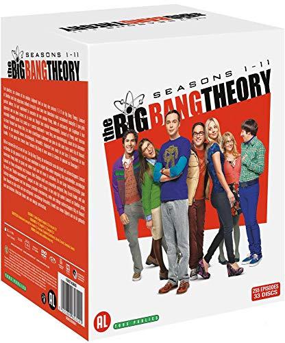 Coffret DVD saisons 1 à 11 de la série The Big Bang Theory