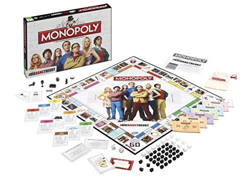 Jeu de plateau Monopoly The Big Bang Theory