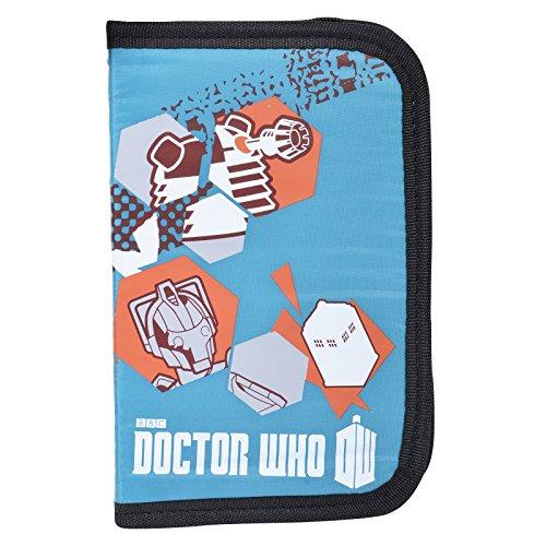 Étui à crayons rempli de Doctor Who–Turquoise