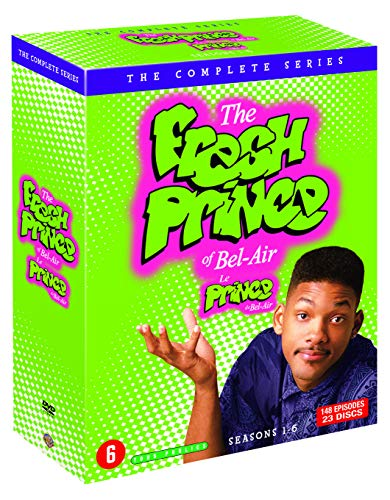 Coffret intégral de la série le Prince de Bel-Air saisons 1 à 6 DVD