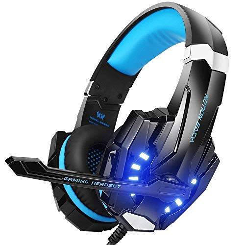 Casque gamer ultra-léger pour PS4, Xbox One, PC, Mac, Switch