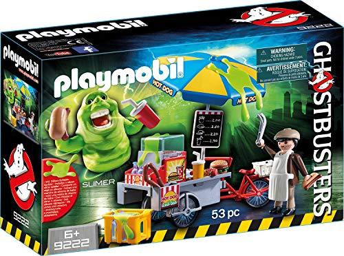Jeu Playmobil Ghosbusters bouffe-tout avec stand de hot-dog
