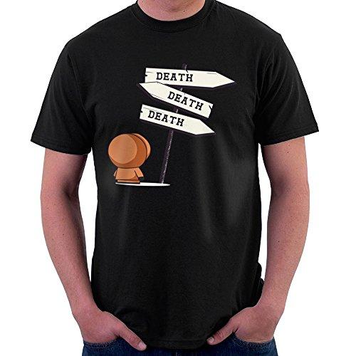 Cloud City 7 Death Signpost Kenny South Park Men's T-Shirt