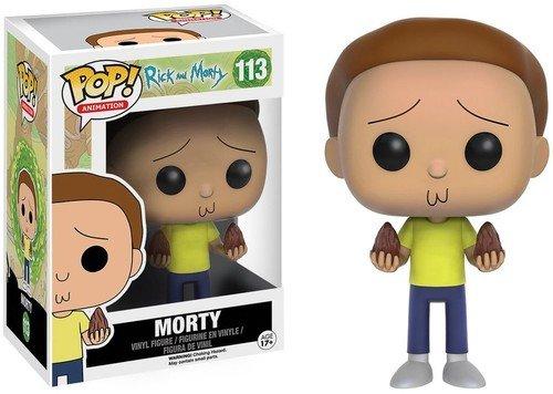 Funko Pop Vinyl-Figurine-Rick & Morty-Morty, 9016, Jaune, Standard
