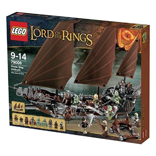 LEGO the Lord of the Ring - 79008 - Jeu de Construction - L'embuscade du Bateau Pirate