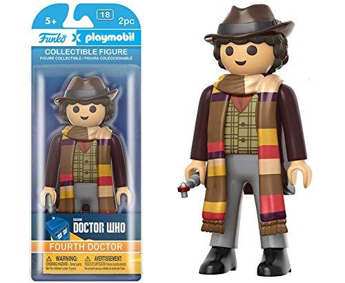FunKo - Figurine Doctor Who Playmobil - 4Th Doctor 15cm - 0849803077846