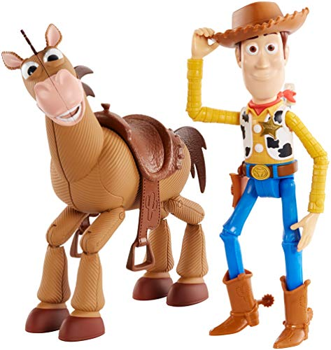 Pack 2 figurines Toy Story 4 Woody et Pile-Poil
