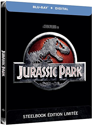 Coffret Jurassic Park édition steelbook blu-ray
