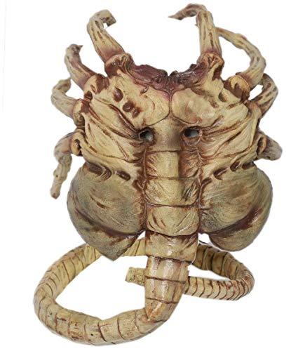Déguisement Alien Latex Masque Homme Cosplay Costume Accessoires Vêtements Réplique pour Adulte Halloween Decoration