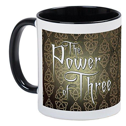 CafePress–Charmed–Unique Mug à café, tasse à café, tasse à thé, White/Black Inside, Small