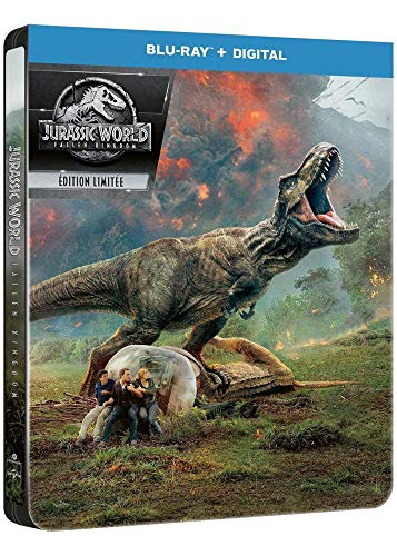 Coffret Jurassic World Fallen Kingdom édition steelbook blu-ray