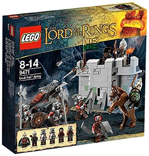 Lego The Lord Of The Ring TM - 9471 - Jeu de Construction - l'Armée Uruk-Hai TM