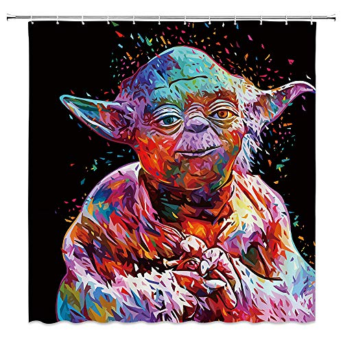 Rideau de douche Yoda Star Wars