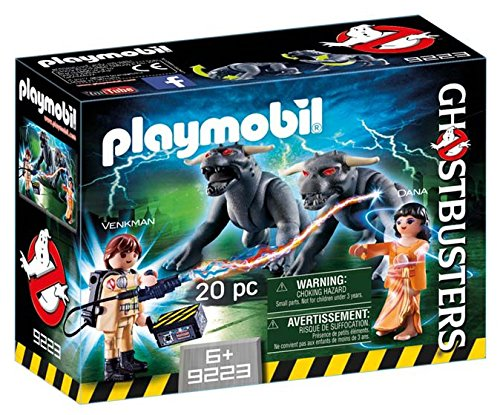 Jeu Playmobil Ghosbusters Venkman et le chien de la terreur