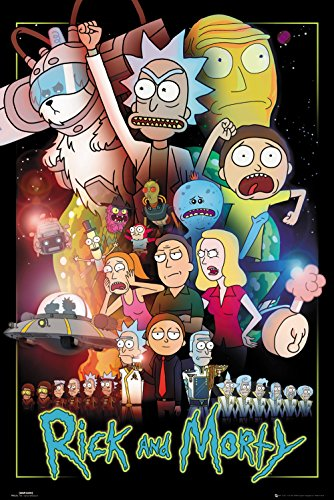 Poster de la série Rick et Morty