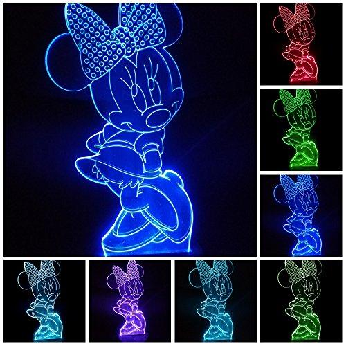 Lampe 3D LED Pokémon Go personnage Pikachu