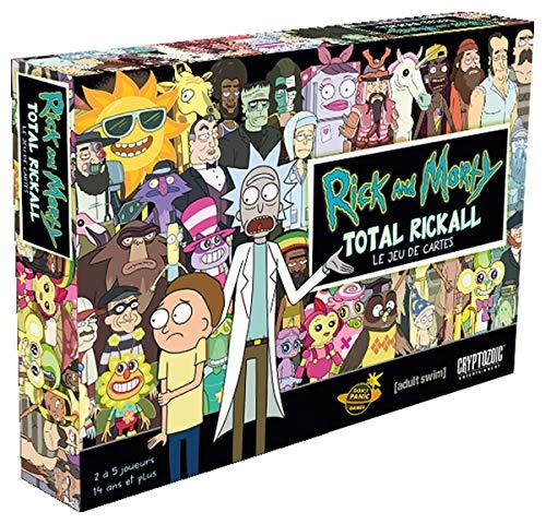Jeu de plateau Total Rickall Rick & Morty