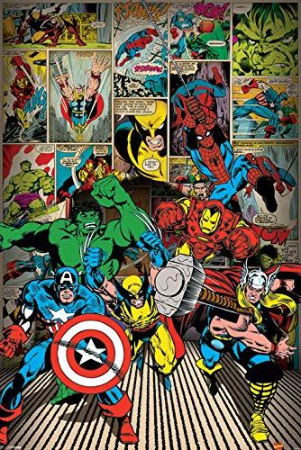 Maxi affiche Marvel Comics