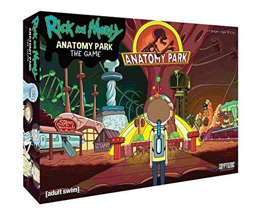 Jeu de plateau Anatomy Park Rick & Morty