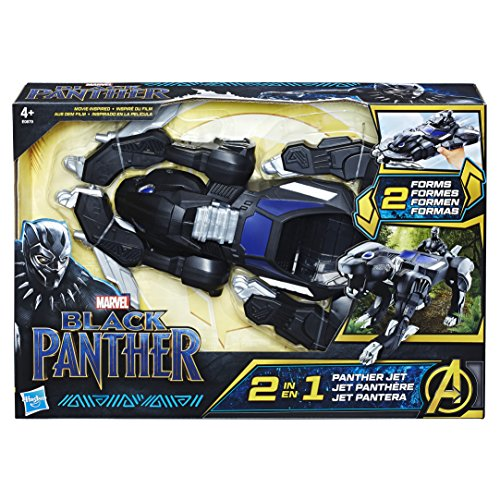 Black Panther - Vehicule Transformable, E0879