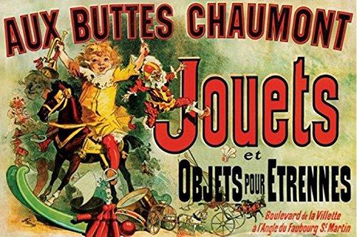 Affiche Aux Buttes Chaumont Friends